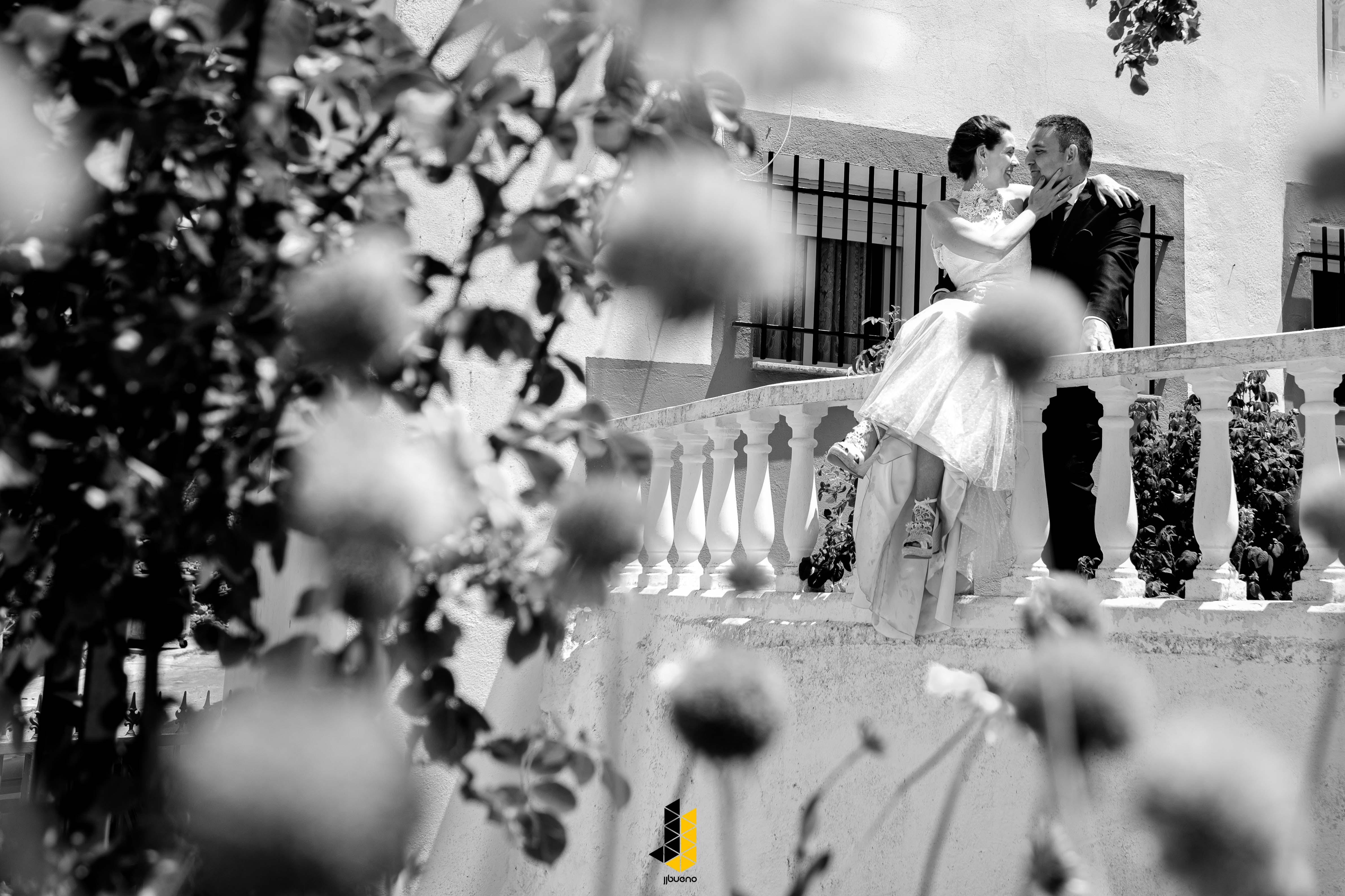 Fotografia de bodas en blanco y negro