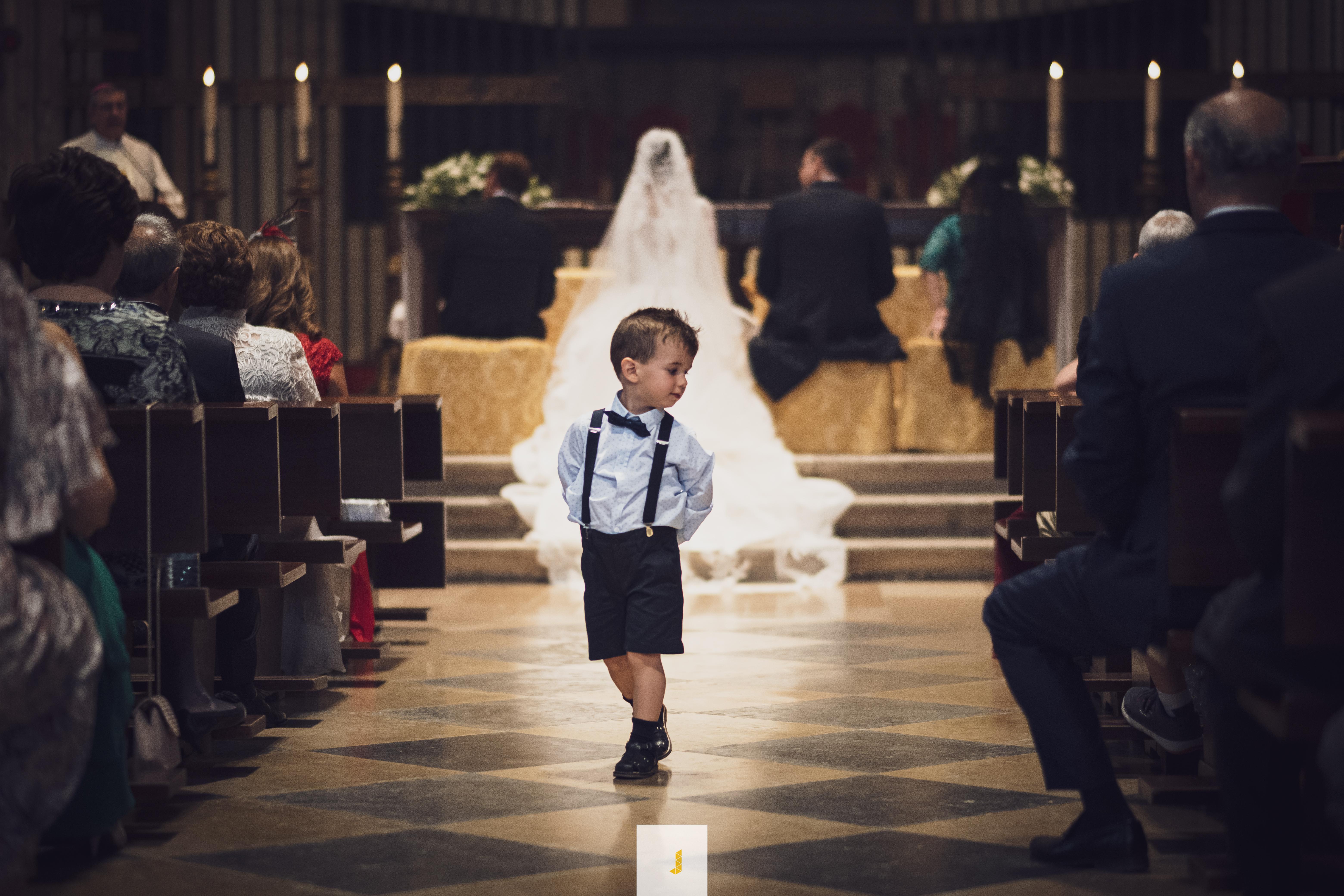 Niños y bodas