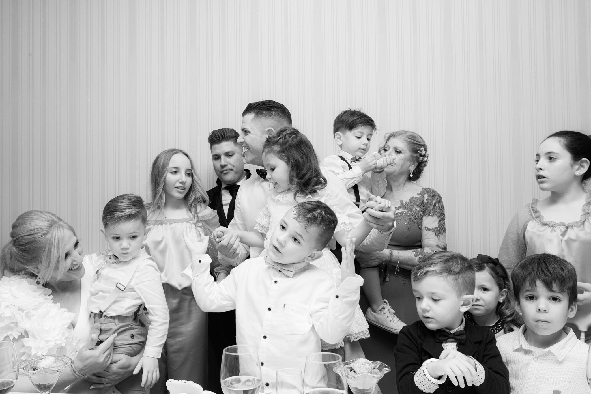 Bodas y niños